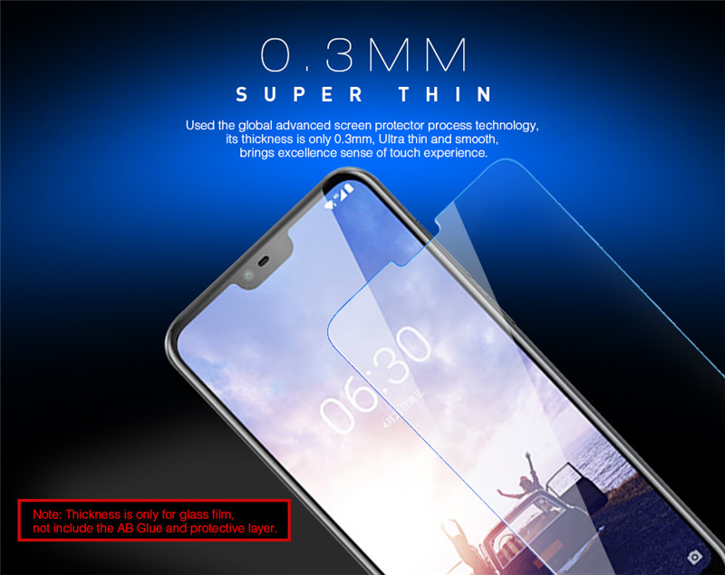 Bakeey™ Anti-scratch HD Clear Tempered Glass Screen Protector for Nokia X6 / 6.1 Plus