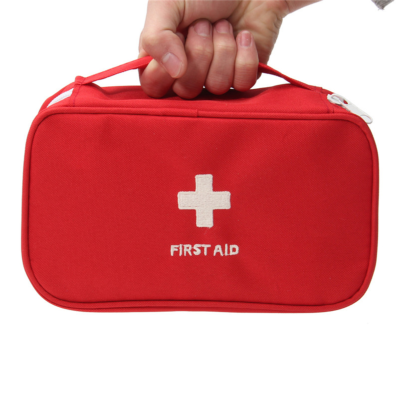 Large Portable Empty First Aid Bag Kit Pouch Home Office Medical Emergency Travel Rescue Case Bag