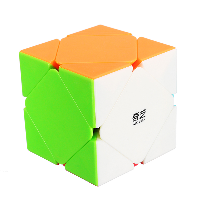 Magic Oblique Fidget Cube Anxiety Stress Relief Fidget Toy Focus Adults Kids Attention Gift
