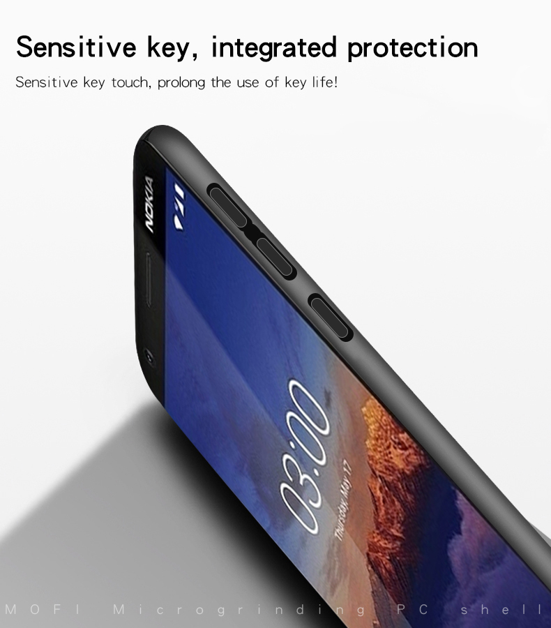 Mofi Frosted Ultra Thin Shockproof Hard PC Back Cover protective Case for Nokia 3.1 / Nokia 3