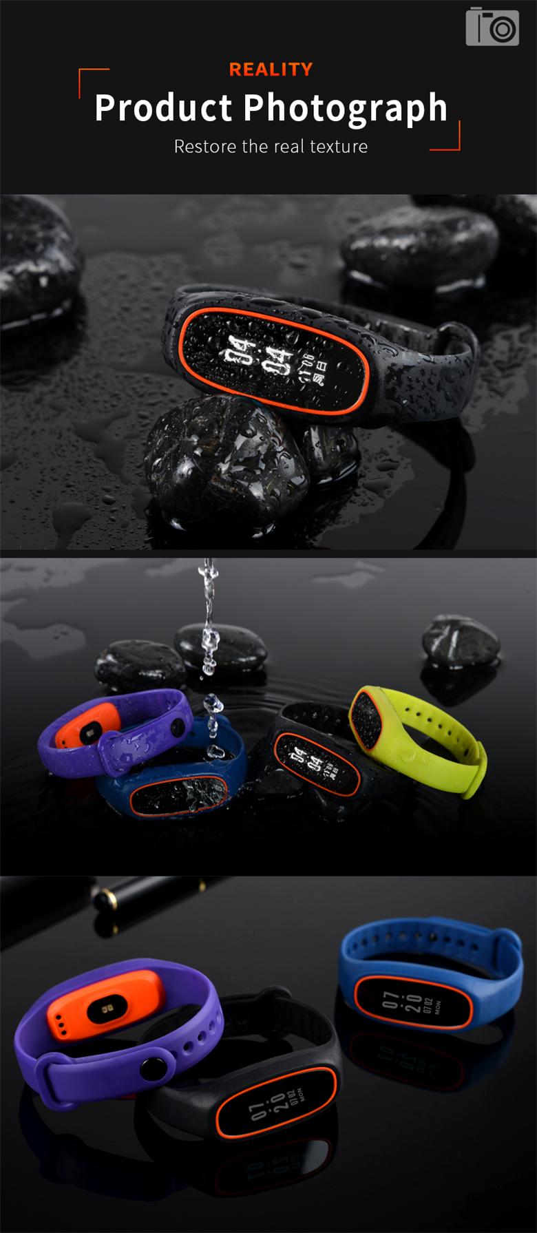 LYNWO DB01 IP68 Waterproof Intelligent Blood Pressure bluetooth Sports Smart Bracelet