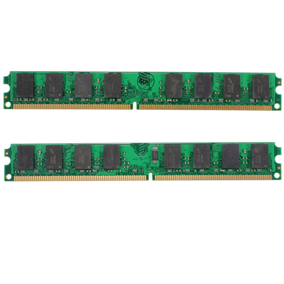 2PCS 2GB DDR2-800MHz PC2-6400 240PIN DIMM AMD Motherboard Computer Memory RAM