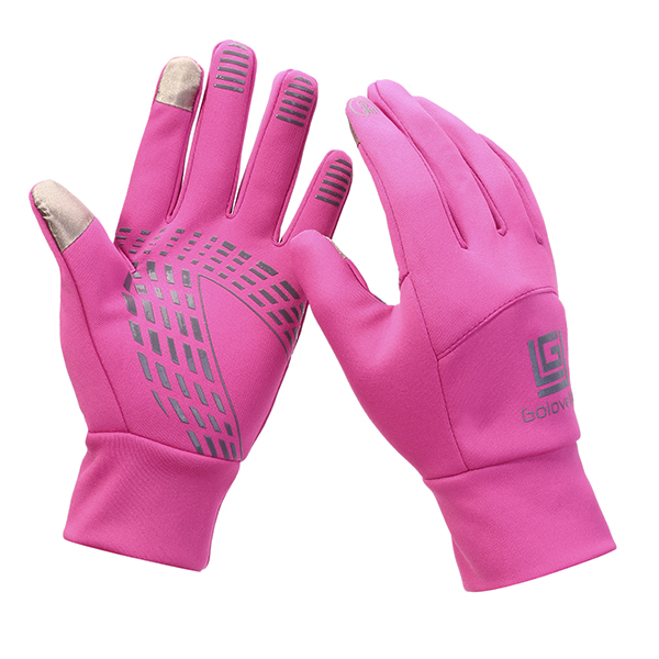 Men Women Warm Waterproof Cycling Sport Gloves