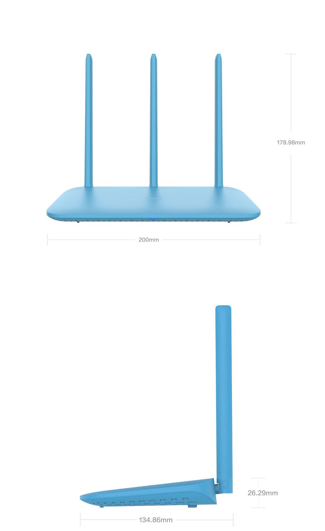 XiaoMi Mi 4Q Wireless Wifi Router 450Mbps 3x 5dBi Antenna One-Key Minet Net-in