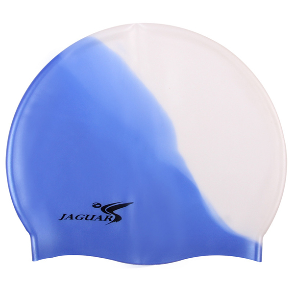 Men Women Elastic Waterproof Silicone Swimming Cap Ears Protection Free Size Swim Hat
