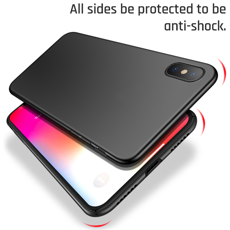 Bakeey Protective Case For iPhone XS 2018 Slim Anti Fingerprint Hard PC Back Cover