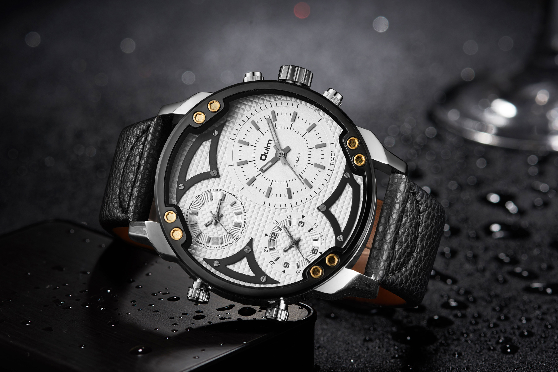 OULM HP3548A Work-dials Military Style Men Watch