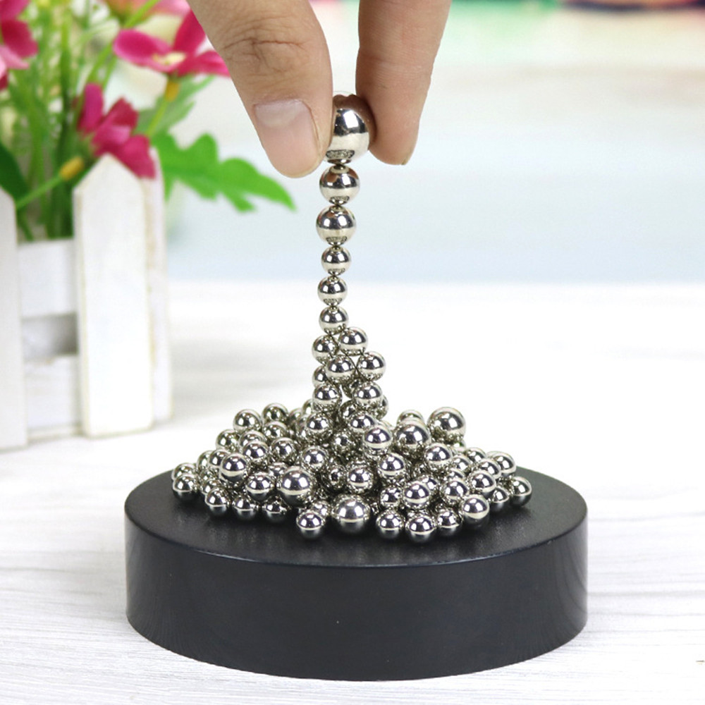 Magnetic Sculpture Desk Toys Decor Art Sculpture Kids Educational Toys Craft Sculpture Figurines