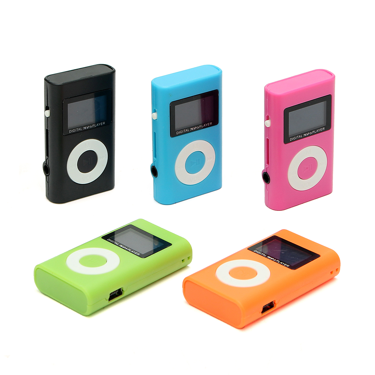 Mini USB MP3 Music Media Player LCD Screen Support 32GB