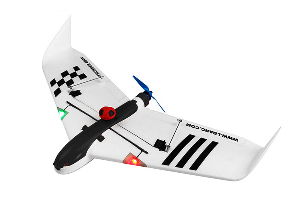 Kingkong/LDARC THUNDER 600X 656mm Wingspan EPO FPV RC Airplane Kit - Photo: 4