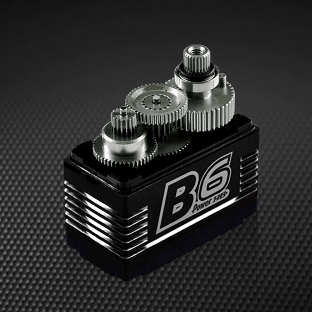 Power HD B6 Brushless Servo 9KG Large Torque Metal Gear For RC Helicopter Head-locking - Photo: 2