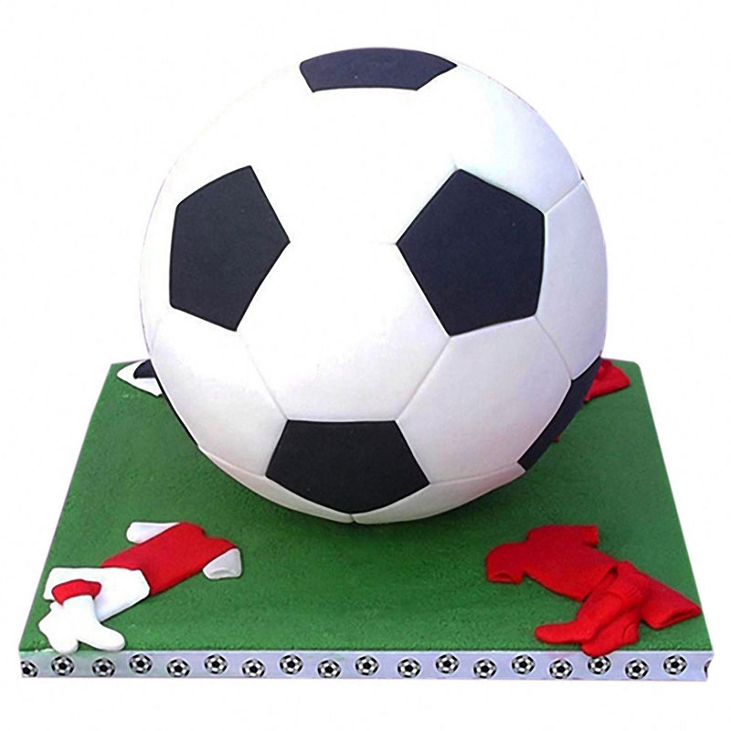 4pcs Football Fondant Cutter Plastic Cutter Fondant Molds Cake Decorating Molds Cake Moulds Chocolate Moulds Baking Mold