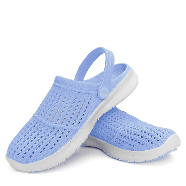 Hollow Out Slip On Casual Beach Flat Slipper Shoes