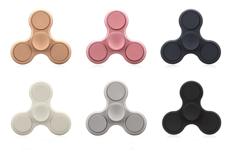 Polished Rotating Fidget Hand Spinner ADHD Autism Fingertips Fingers Gyro Reduce Stress