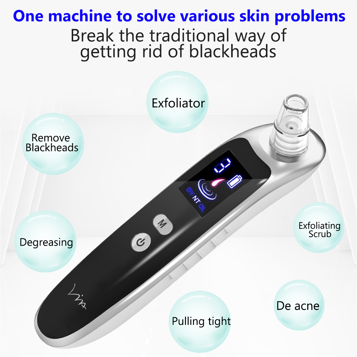 Face Nose Acne Black Dot Pimple Blackhead Remover