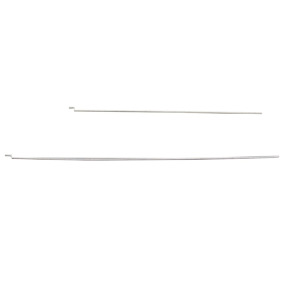 2PCS 14cm & 2PCS 18cm 1.2mm Z-type Steel Wire Push Rod For SU27 KT Board RC Airplane