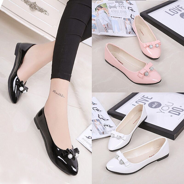 Women Leisure Flats Summer Chic Shoes Lazy Slip-on Loafers Dress Shoes