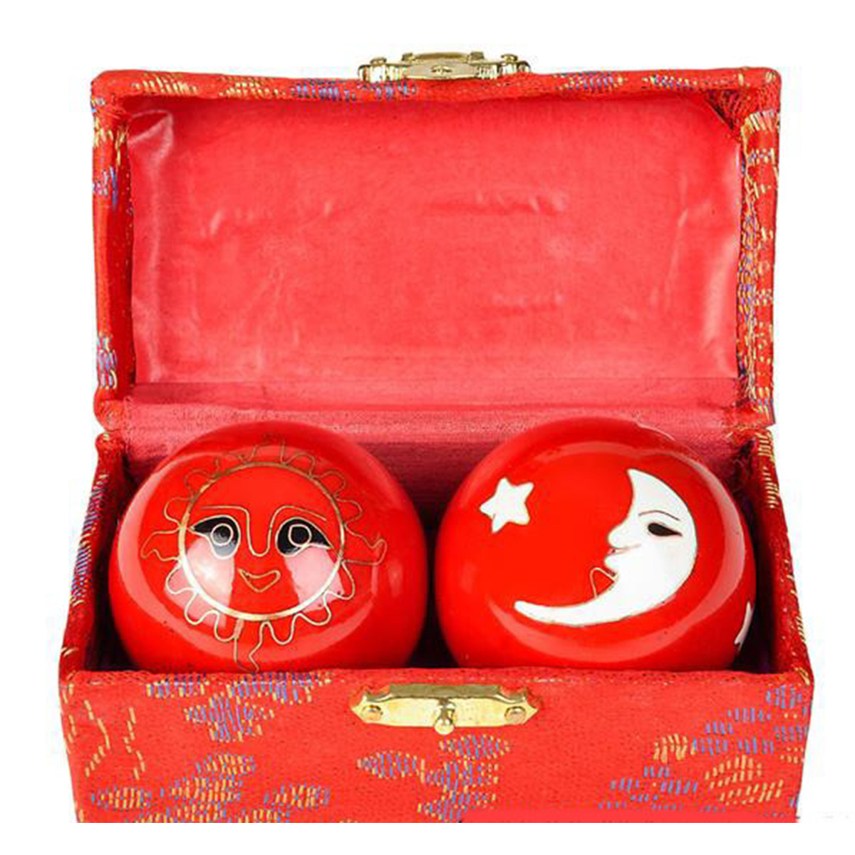 35mm 40mm Chinese Health Exercise Stress BAODING Balls Relaxation Therapy