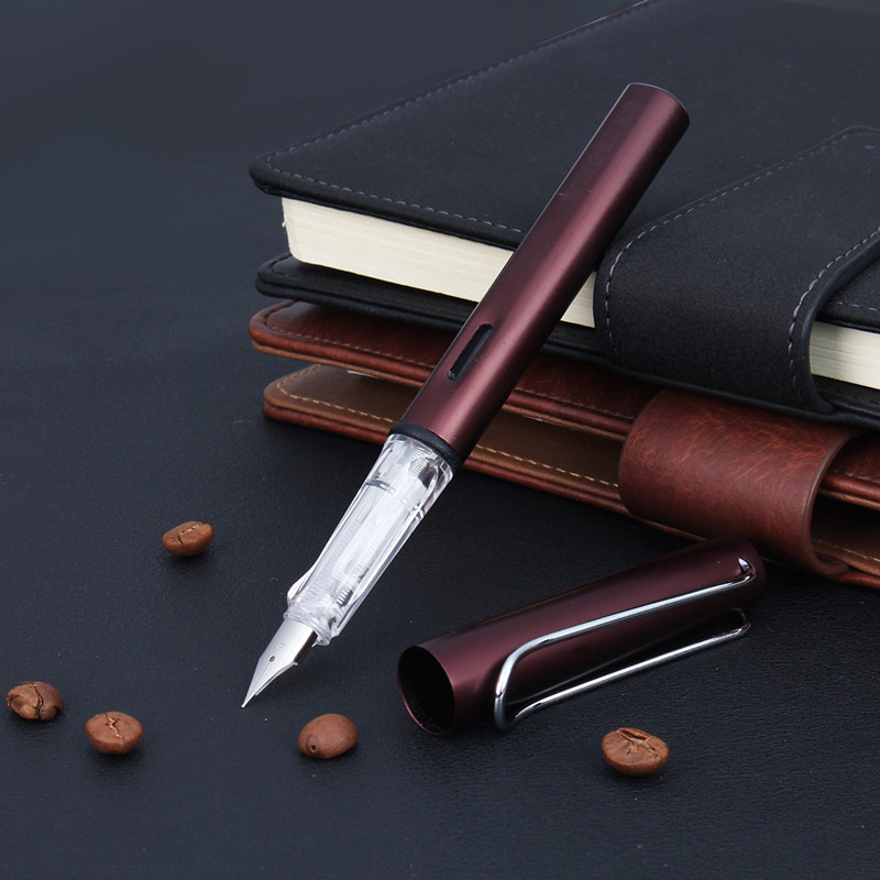 1Pcs WingSung 6359 Fountain Pen With 0.38mm Fine Nib For Business Office Stationery Supplies