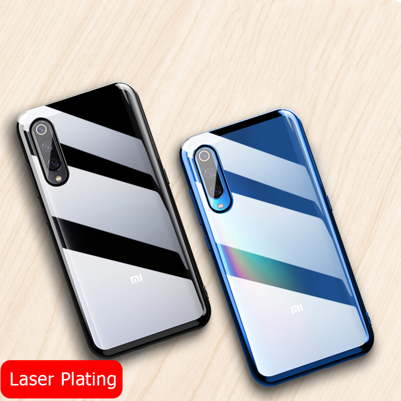 Bakeey Luxury Shockproof Elac-plating Transparent Hard PC Protective Case For Xiaomi Mi9 Mi 9 / Xiaomi Mi9 Mi 9 Transparent Edition