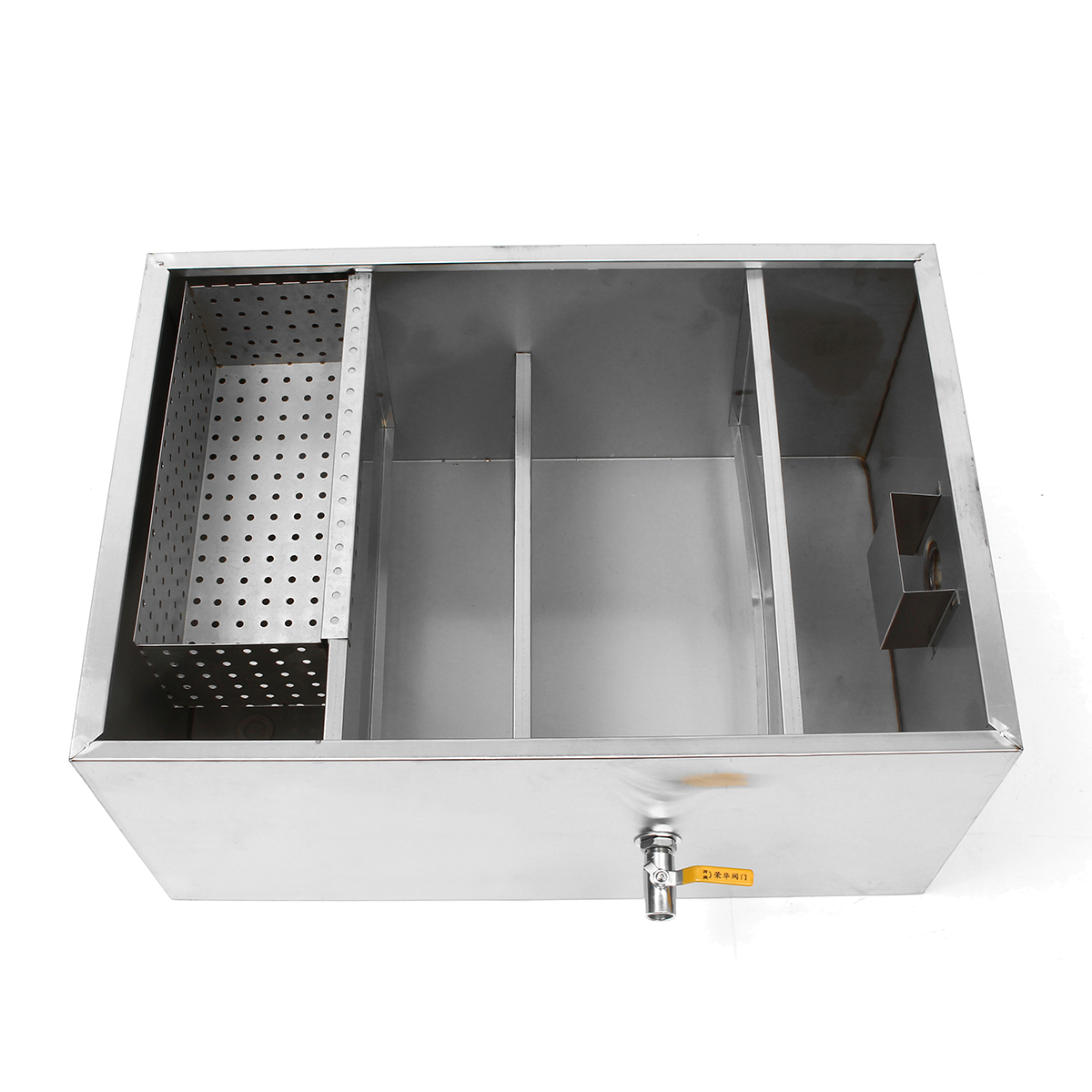 12L Stainless Steel Grease Trap Interceptor Filter Commercial Interceptor Grease Trap