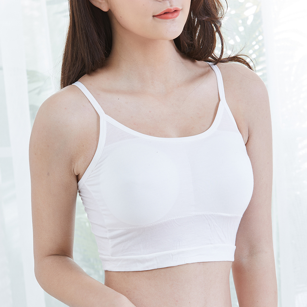 Comfortable Modal Wire Free Padded Anti Emptied Bra
