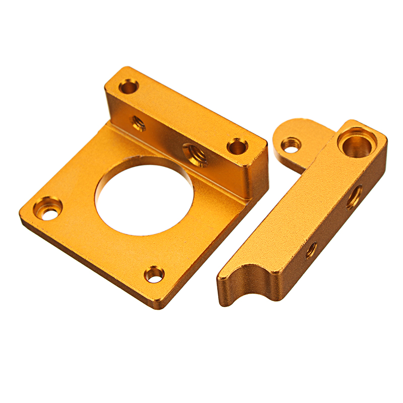 Aluminum Extruder Forward or Reverse Direction Bracket Kit Without 17 Stepper Motor For 3D Printer