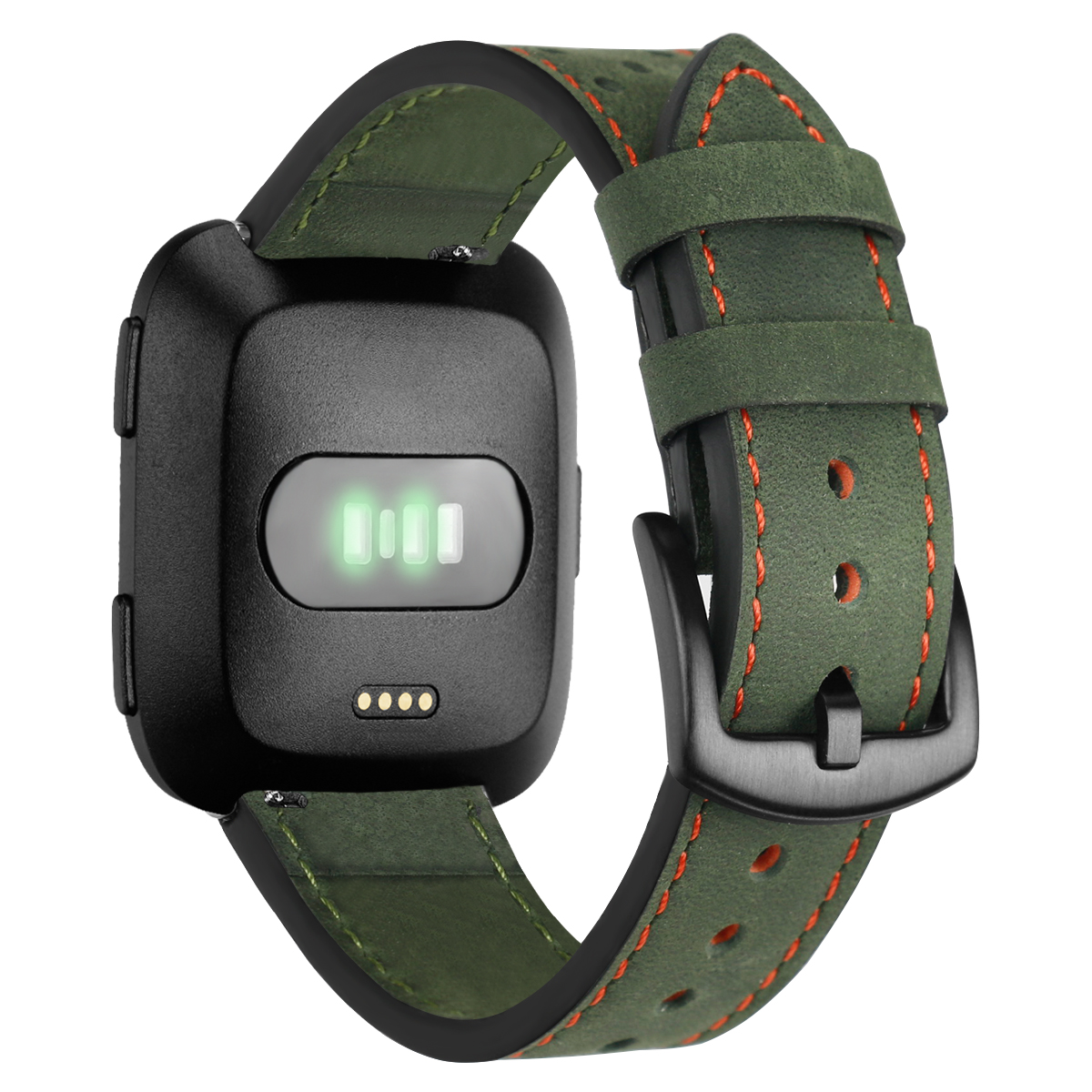 Replacement Leather Wrist Band Watch Band Strap For Fitbit Versa