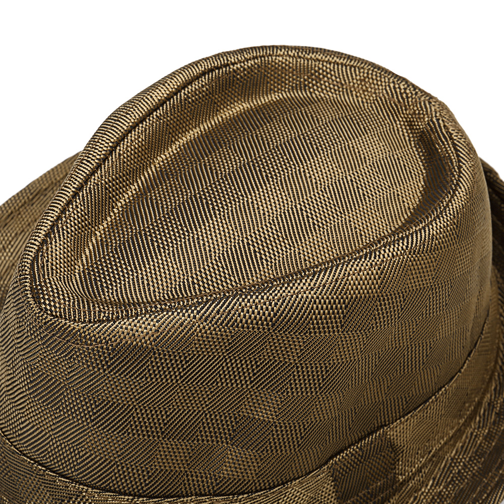 Mens Womens Classic Outdoor Canvas Plaid Jazz Hat