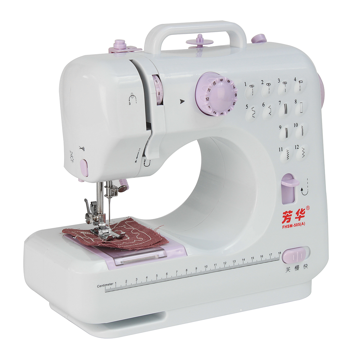 110-240V Portable Mini Electric Household Sewing Machine Two speed With Power Adapter US Plug