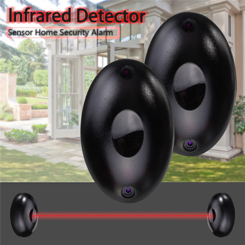 Alarm Photoelectric Simple Beam Infrared IR Detector Security System Door 12 to 24V
