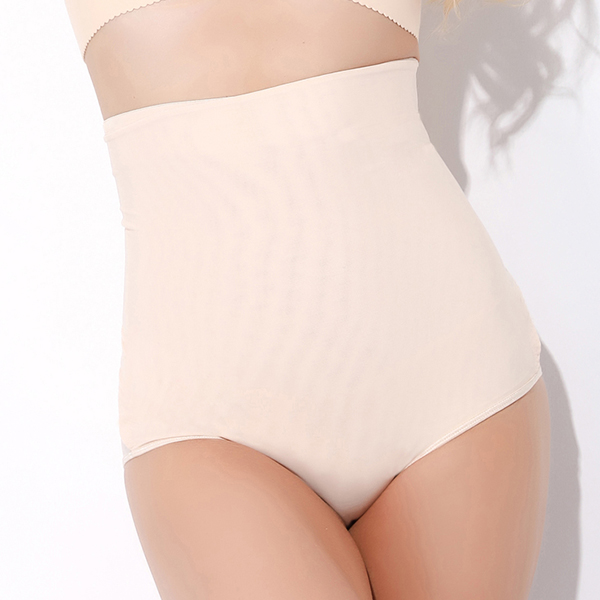 High Waist Magic Sticker Breathable Thin Shapewear