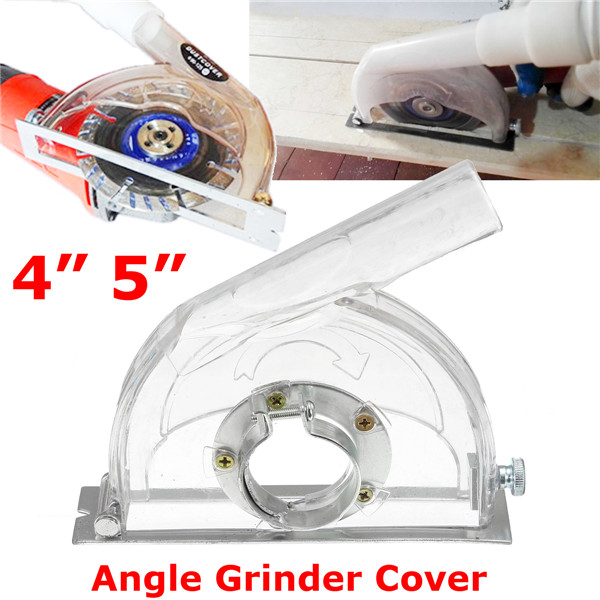 Drillpro Angle Grinder Cutting Dust Cover Transparent Grinding Dust Cover For 4 5 Inch Angle Grinder