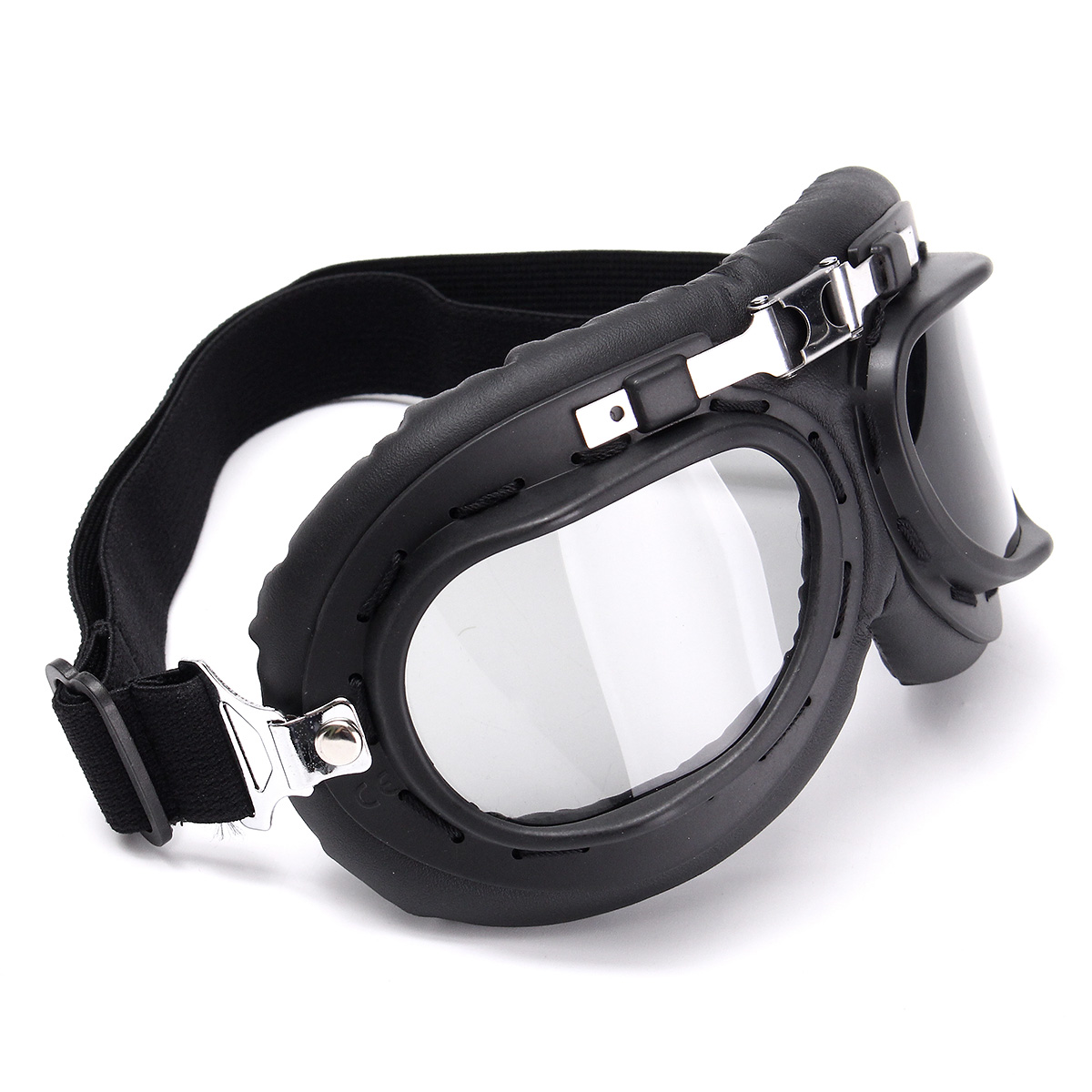 Motorcycle Biker Flying Goggles Helmet Glasses Protector Windproof Anti-UV