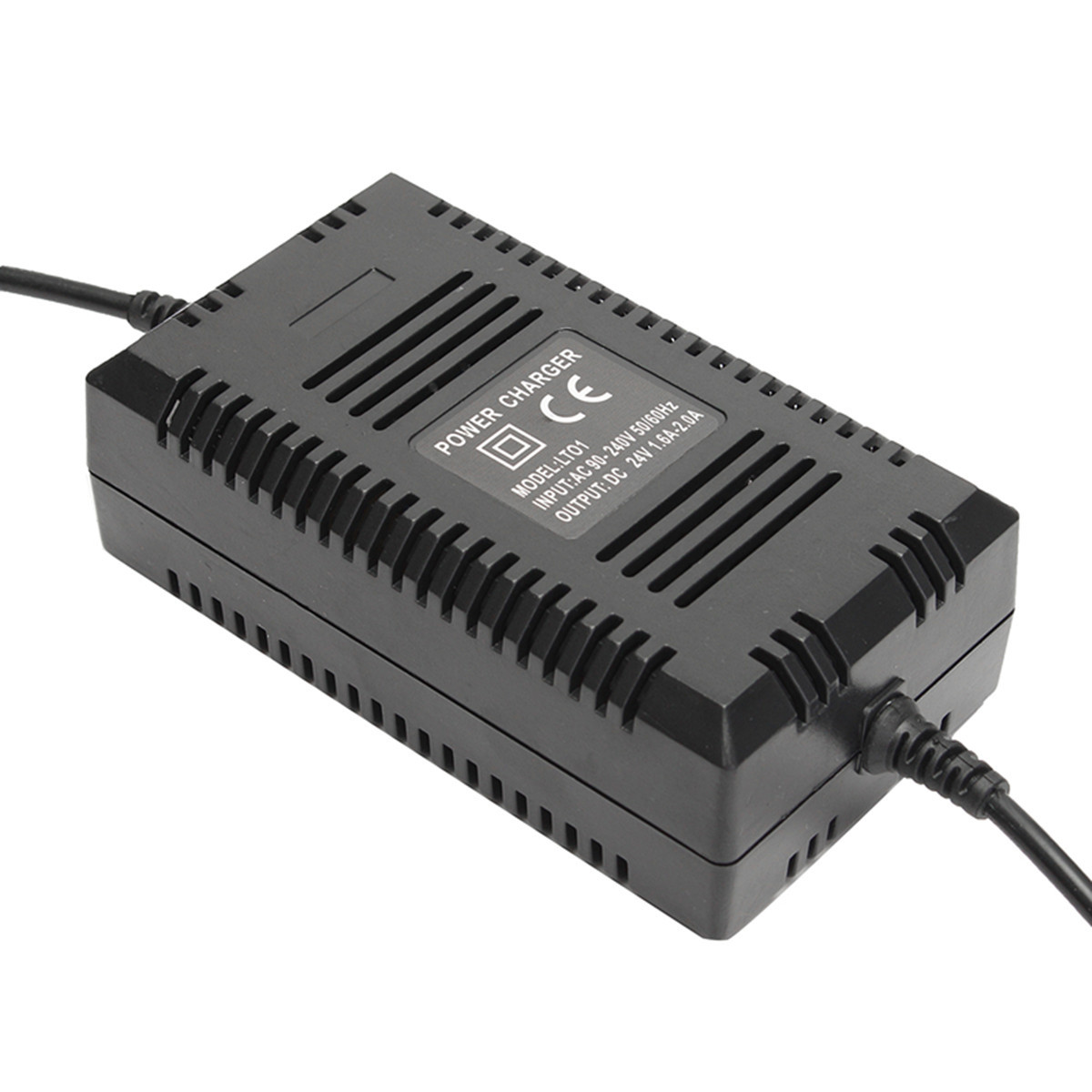24V 2A Power Charger For Electric Scooter Three Port Inline Female Connector