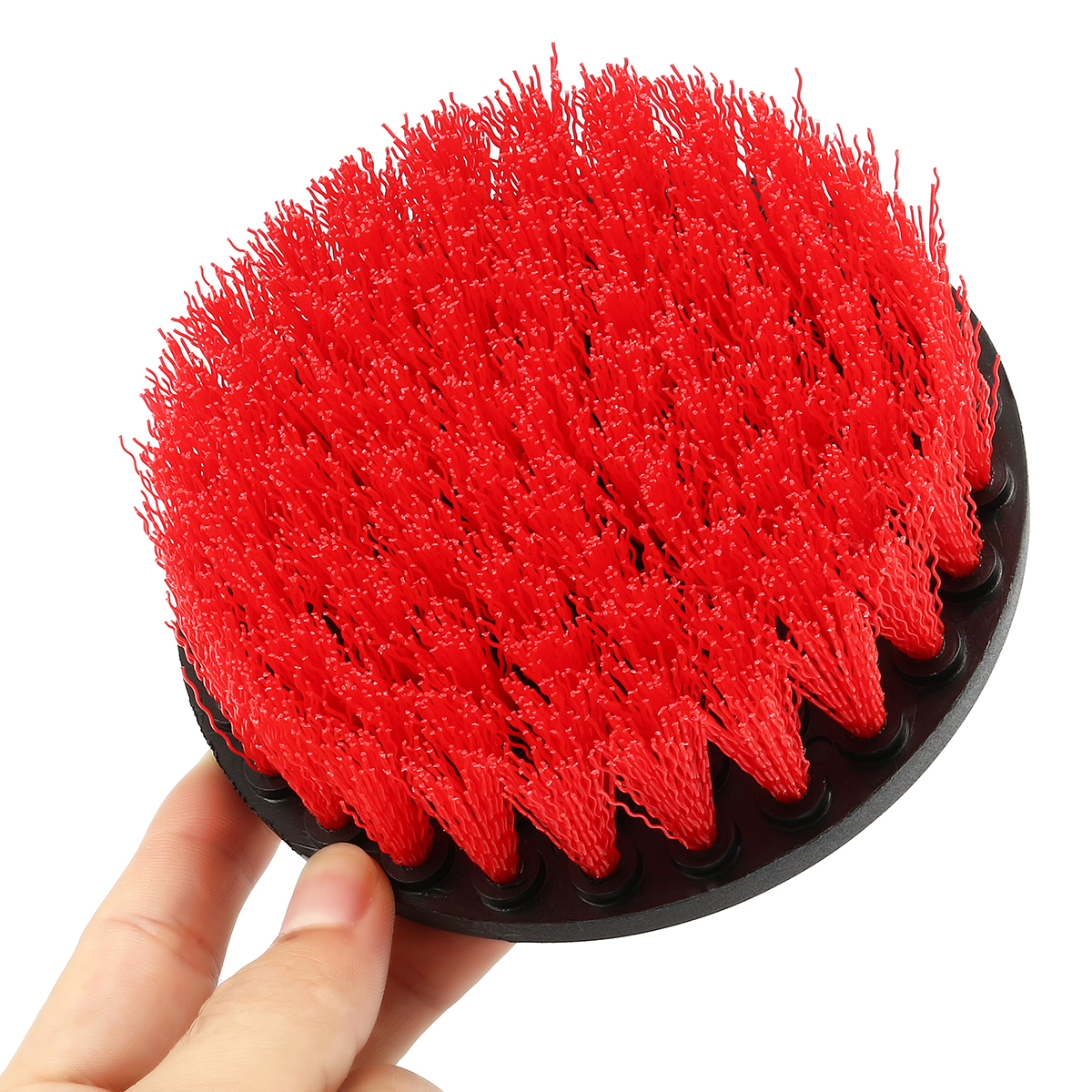 4 Inch Electric Drill Cleaning Brush Plastic Scrubbing Brush
