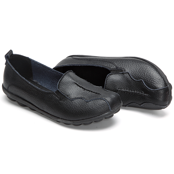 US Size 5-11 Round Toe Soft Sole Slip On Flat Loafers