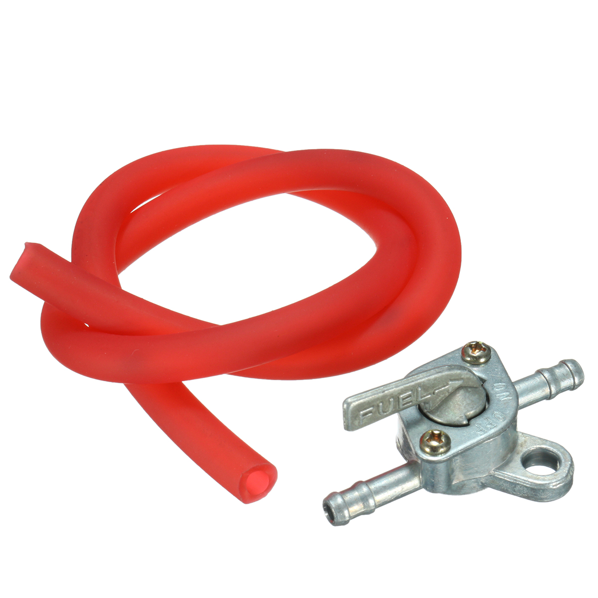 Fuel Tank Switch Petcock Tap With Fuel Line Hose For 49cc 110cc 125cc Pit Dirt Quad Bike ATV