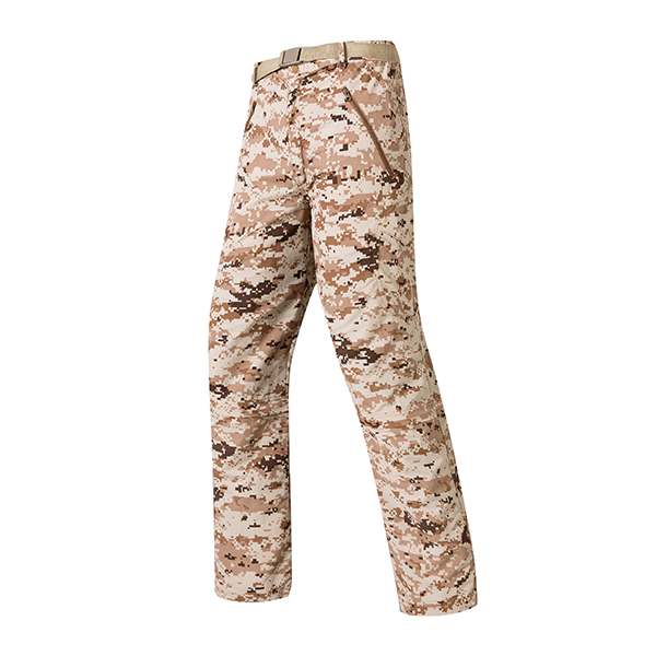 Mens Military Tactical Camouflage Quick Drying Dismountable Pants Multi Pockets Cargo Pants