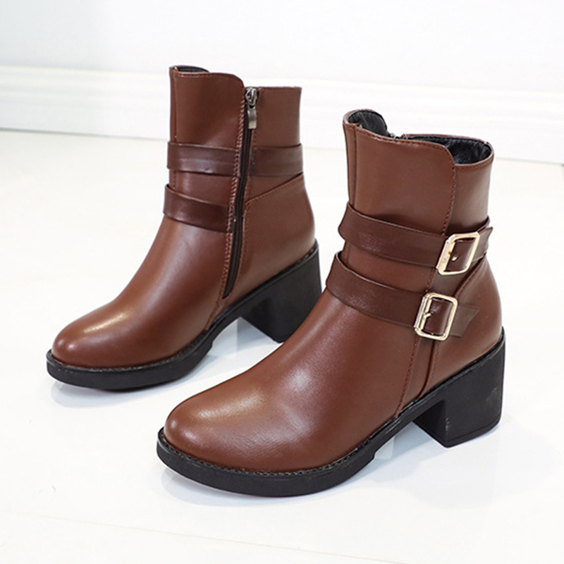 Women Warm Lining Snow Ankle Boots