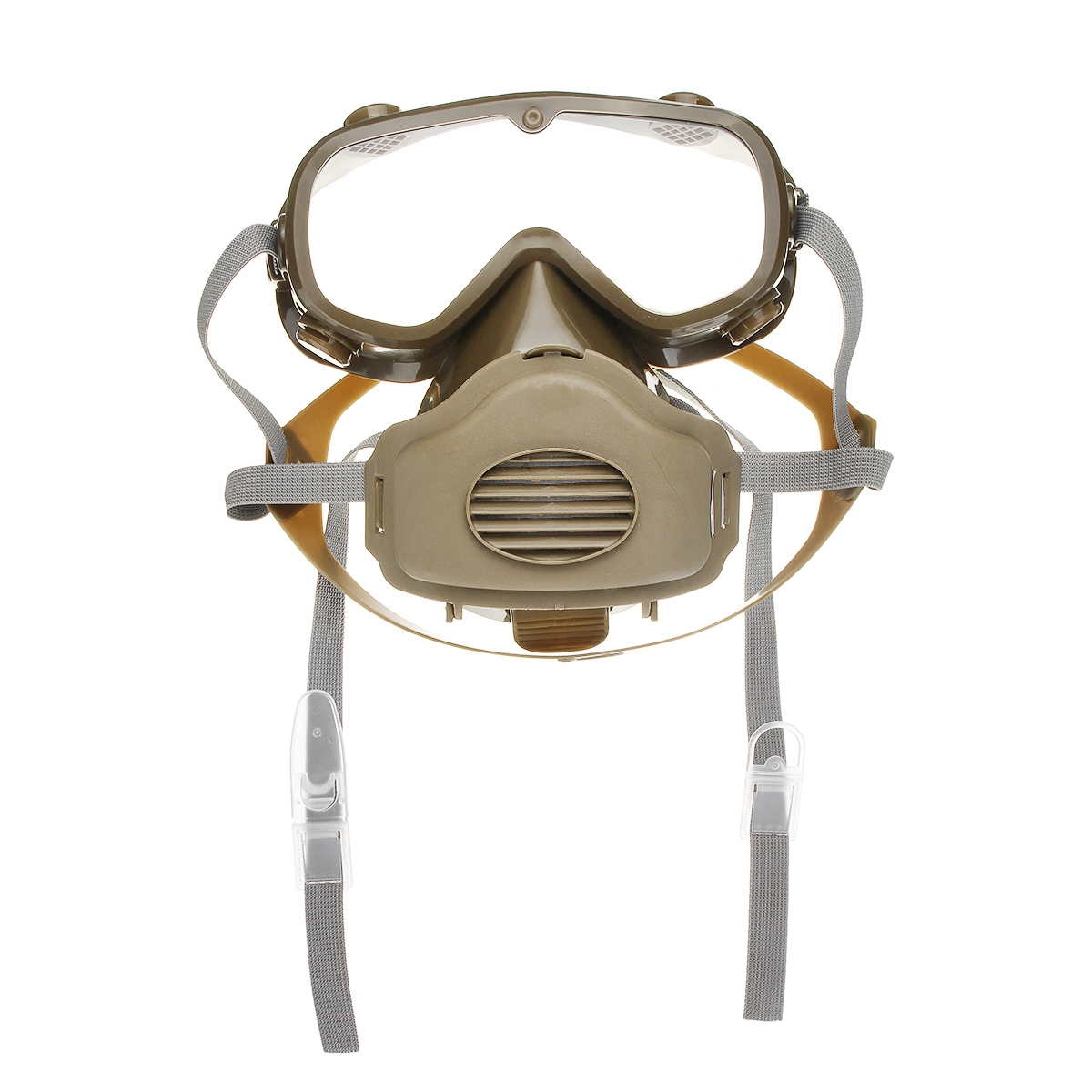Full Face Mask Goggles Respirator Gas Chemical Dust Smoke Fire Paint Protector