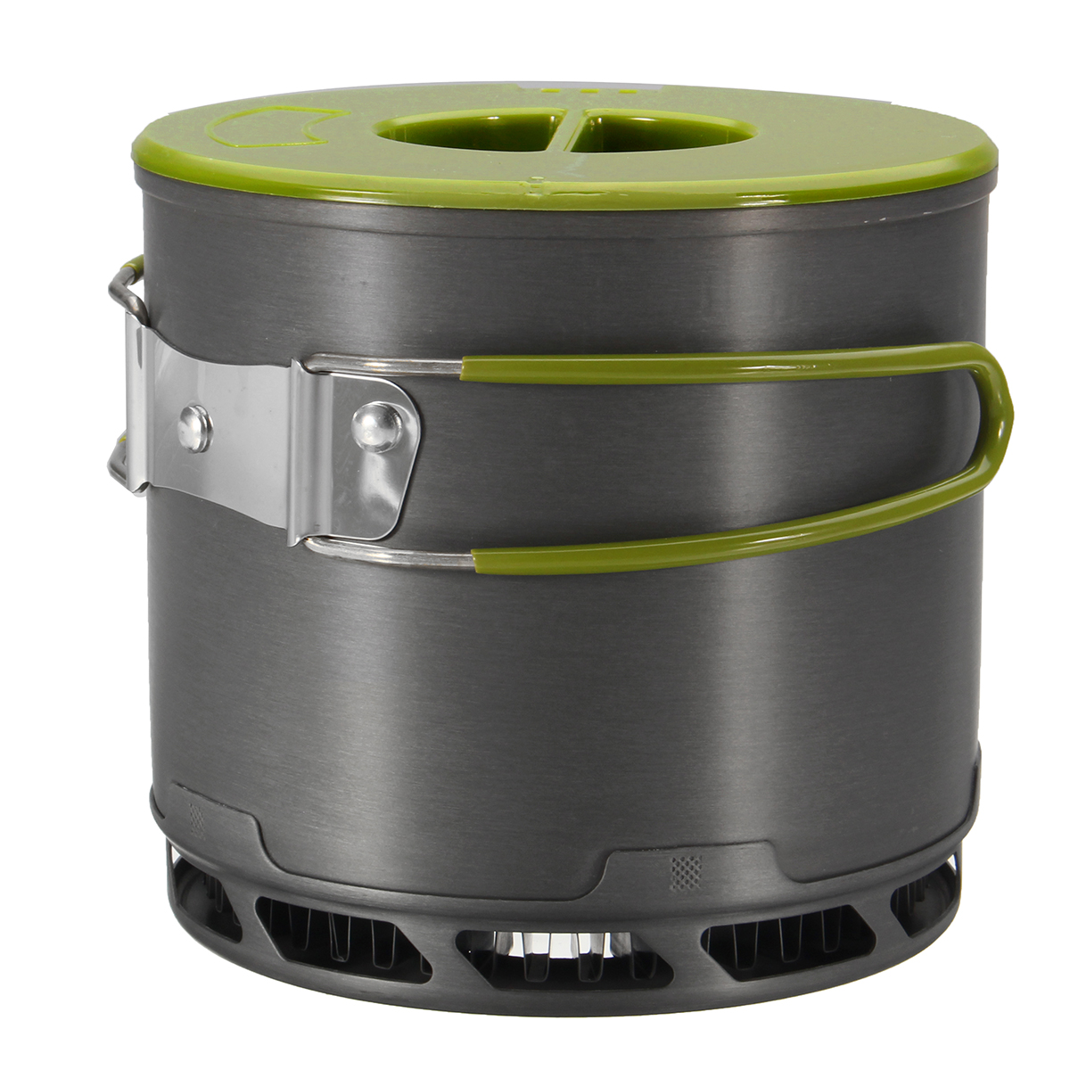 IPRee 1.2L Outdoor Heat Collecting Exchanger Pot Campin
