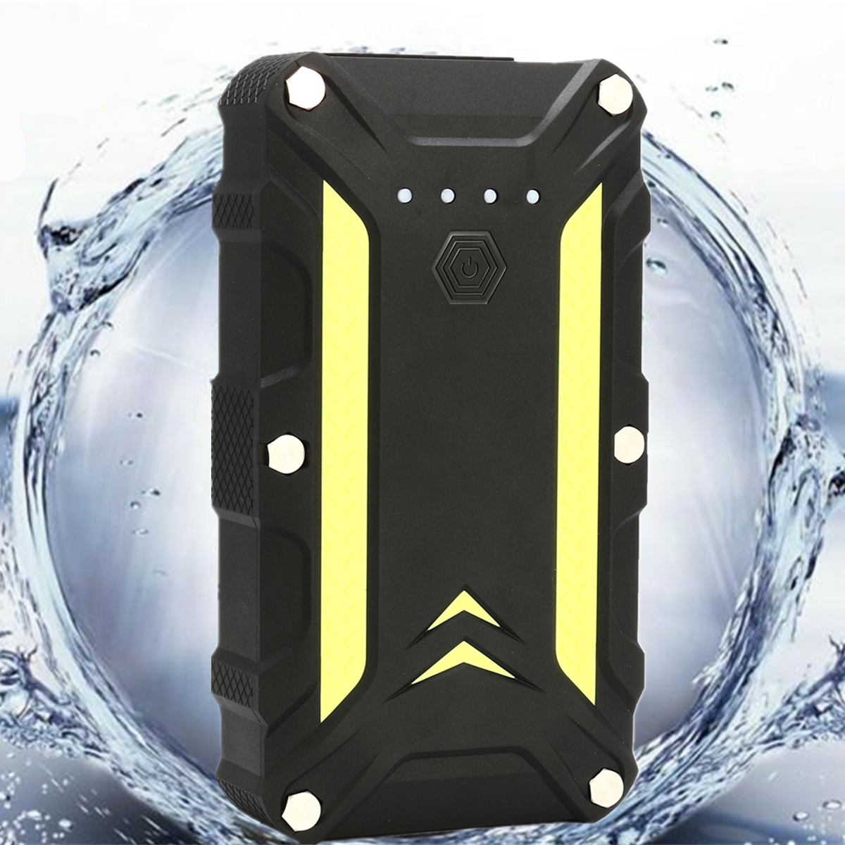 IP68 Waterproof Battery Jump Starter Battery Booster Pack Emergency Power Supply