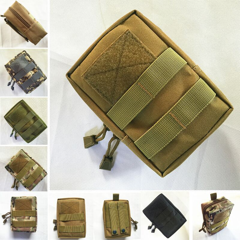 Outdoor Fishing Nylon Bag Vest Waist Pouch Bag For Outd
