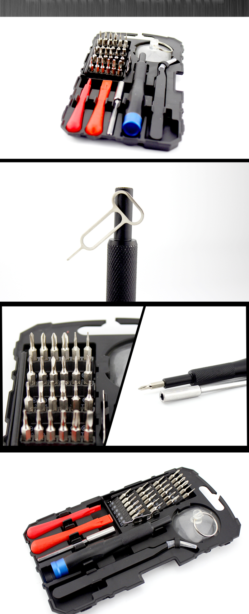 MPT® 32 in 1 Precision Screwdriver Set Disassemble For Tablets Phone Computer Laptop PC Watch