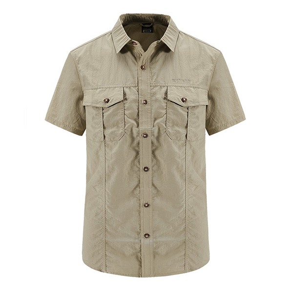 Outdoor Military Quick Dry Breathable Cargo Work Shirts