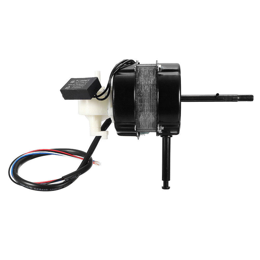1200rpm 60W Air Conditioner Condenser Fan Motor Double Rolling Bearing DC Motor