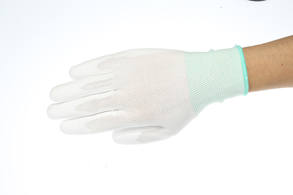 MYTEC 1 Pair Anti Static Gloves Electronic Working Gloves PU Coated Palm Coated Finger Protection
