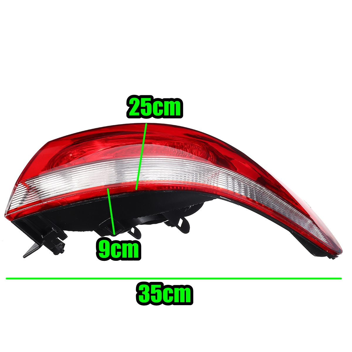 Car Rear Tail Brake Light Lamp Cover Left/Right without Bulb for VW Golf Mk6 Hatchback 2009-2013