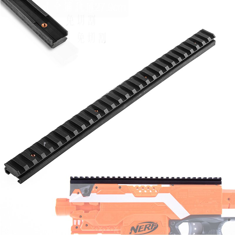 WORKER Decoration Top Rail 27.9cm For Nerf N-strike Stryfe Toys Accessory